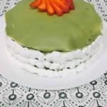 草莓抹茶千层蛋糕