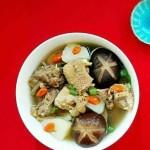 电饭锅版香菇炖土鸡
