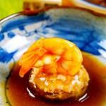 鲜虾肉糜香菇盅