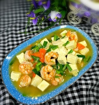 豆腐熘虾仁