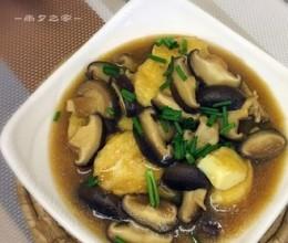 香菇玉子豆腐