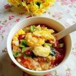 西红柿瘦肉疙瘩汤