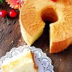 椰香戚風蛋糕