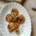 黑芝麻酥饼干