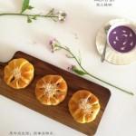 紫薯花朵面包
