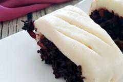 腊肉黑米卷