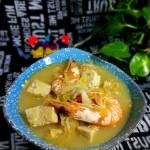 酸菜海虾冻豆腐