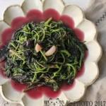 蒜蓉红苋菜