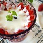 水果牛奶糯米捞