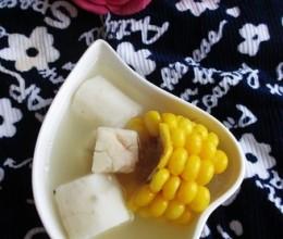 玉米淮山茯苓汤