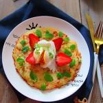米饭早餐田园饼