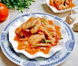 番茄烩鲽鱼片