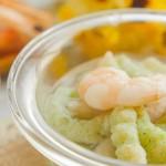 彩色虾滑条