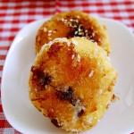 粘米红薯饼