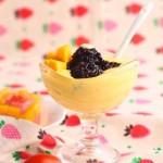 港式甜点-芒果黑糯米甜甜