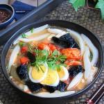 鲜虾番茄面鱼