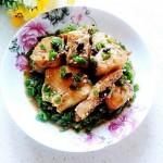 青椒豆豉燜草魚