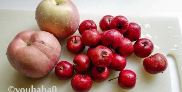 苹果山楂果酱的做法