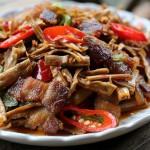笋干炒回锅肉