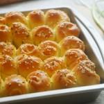 香葱芝士咸面包