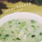 宝宝营养餐—排骨油麦菜粥