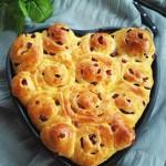 蔓越莓心形面包