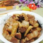 腐竹煮五花肉