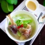 羊腿白菜汤