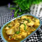鲈鱼炖豆腐