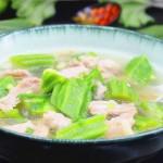 丝瓜肉片汤