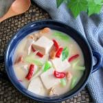 河蚌豆腐煲