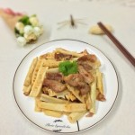 春筍炒肉片