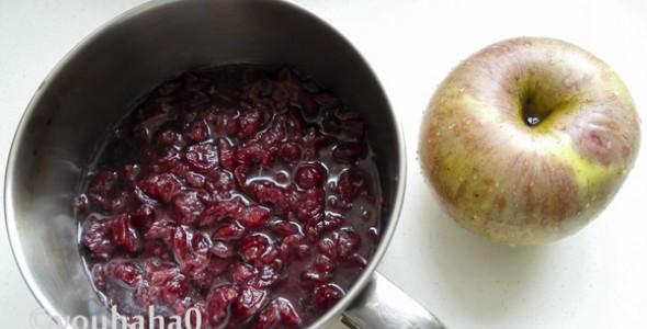 蔓越莓苹果酱的做法