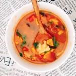五彩面疙瘩汤