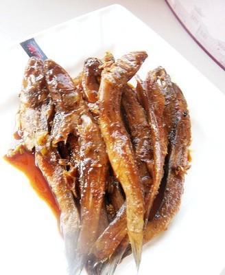 蚝油焖鱼干