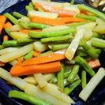 蚝油豆角炒土豆