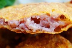 脆香鱿鱼饼