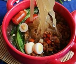 砂锅莲藕红薯粉