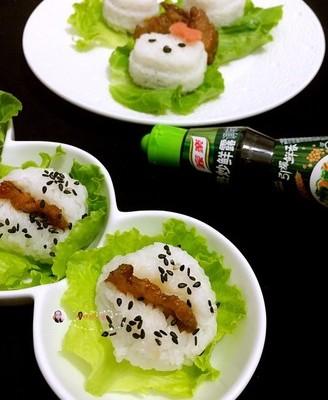 趣味饭团#鲜香滋味 搞定萌娃#