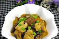 香菇豆干炖肉