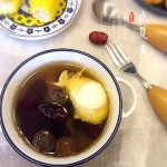 桂圆红枣鸡蛋糖水