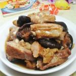 香菇烤麸烧排骨