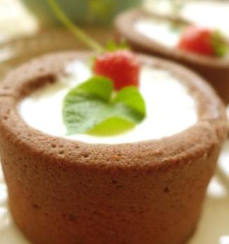巧克力蛋糕杯