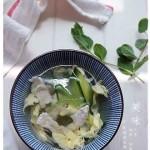青瓜肉片汤