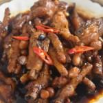 茶餐厅的豆豉凤爪?