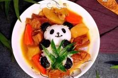 #霸王超市#熊猫咖喱牛肉饭