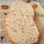 黑芝麻核桃面包