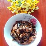 海带丝炒瘦肉