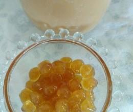 自制珍珠奶茶的珍珠