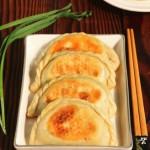 韭菜鲜肉煎饺